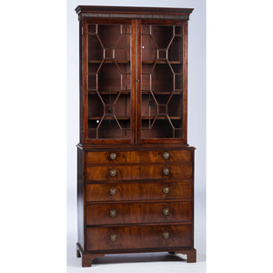 A Regency Secretary Bookcase