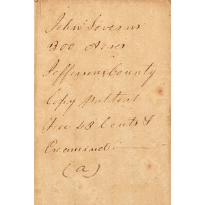 Benjamin Harrison V Signed Document as Governor of the Commonwealth of Virginia, June 1, 1782
