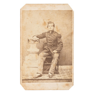 Rare Civil War CDV of a US Marine
