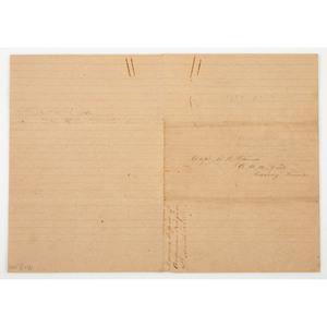 CSA Brigadier General Robert H. Anderson, 1865 Signed Morning Report