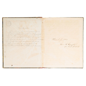 Archive of Delia and Genie Campbell, Including Civil War-Date Diaries with Lincoln Assassination Content and Lifestyle Advice
