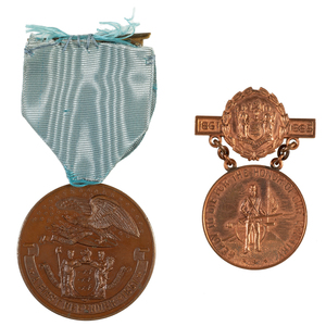 New Jersey Veteran's Reserve Service Medals Presented to Privates James McHenry and George W. Hughes