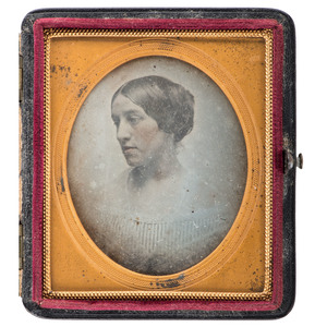Southworth & Hawes Sixth Plate Daguerreotype of Young Woman