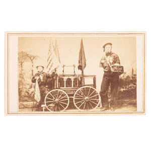 CDV of Fort Fisher Veteran and Child