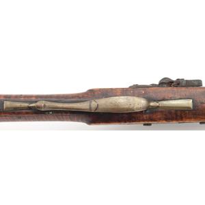 Full-Stock Flintlock Kentucky Rifle