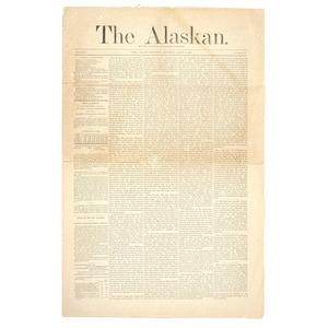 The Alaskan, Early Alaska Territory Newspaper