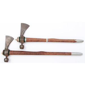 Lot Of Two Contemporary Tomahawks