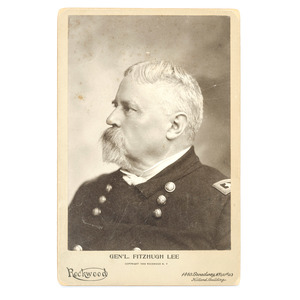 CSA General Fitzhugh Lee, 1902 Signed Cabinet Card