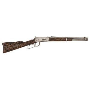 ** Northwest Coast Carved Winchester Model 1894 Saddle Ring Carbine