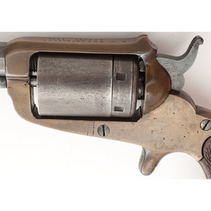 Extremely Rare Confederate First Model Cofer Revolver - Serial No. 7