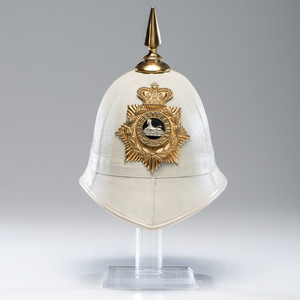British Foreign Service Helmet, The Gloucestershire Regiment