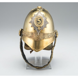 British Pattern 1871 Dragoon Helmet, 5th (Princess Charlotte of Wales's) Regiment of Dragoon Guards