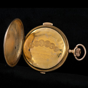 Swiss 18k Quarter Repeater Pocketwatch