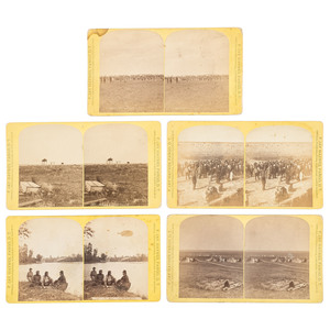 F. Jay Haynes, Eight Stereoviews Featuring American Indian Subjects