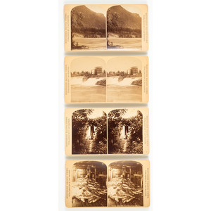 F. Jay Haynes, Group of Washington Territory Stereoviews, Incl. the Puget Sound, Tacoma, and Seattle