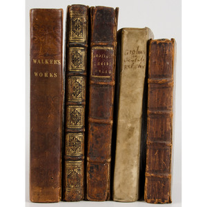 [Religion] -- A group of 17th century Protestant religious works: