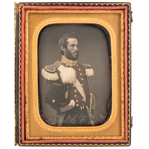 Captain Rinaldo B. Wiggin, 2nd Maine Infantry & VRC, Exceptional Photographic Archive