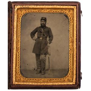 Captain Rinaldo B. Wiggin, 2nd Maine Infantry & VRC, Exceptional Photographic Archive