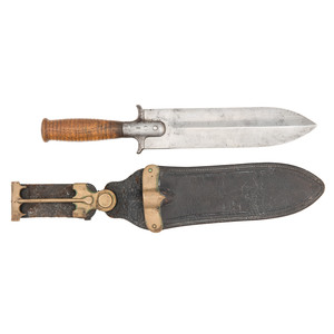 Early Iron Guard US M1880 Springfield Hunting Knife