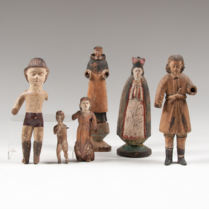 Carved Santos Figures