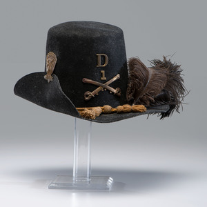 Museum Quality Reproduction U.S. Model 1858 Dress Hat for Cavalry