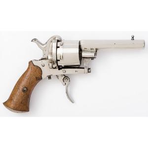 Belgian Pinfire Revolver