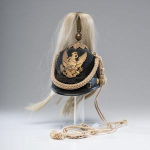 U.S. Model 1881 Enlisted Musician Dress Helmet