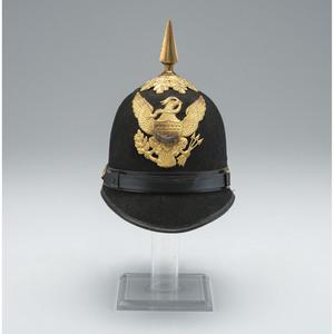 U.S. Model 1890 Enlisted Commissary Sergeant Dress Helmet
