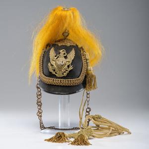 U.S. Model 1881 10th Cavalry Officer's Dress Helmet