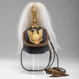 U.S. Model 1880 Infantry Officer's Dress Helmet, 4th Infantry