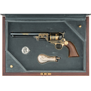 U.S. Historical Society Robert E. Lee Commemorative Colt Navy Percussion Revolver