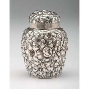 Gorham Sterling Silver Tea Caddy