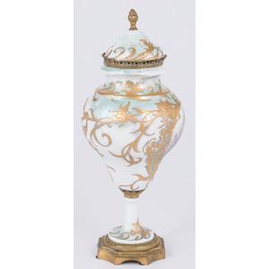Sevres-style Porcelain Urn