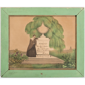 American Mourning Lithograph
