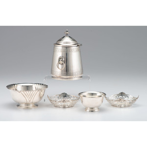 Sterling Nut Dishes and Bowls, Plus