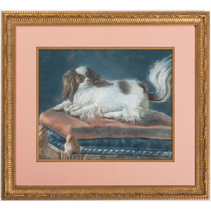 English School, Portrait of a Spaniel