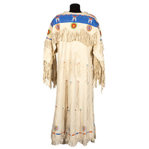 Cheyenne Beaded Hide Dress