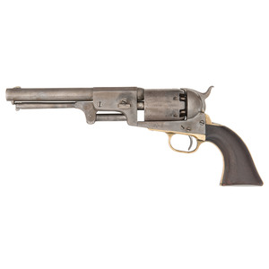 US Marked Colt Third Model Dragoon Percussion Revolver