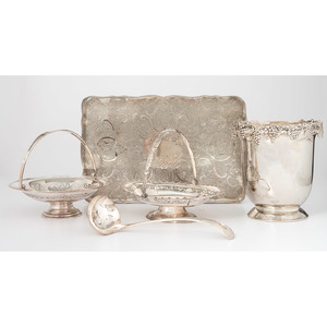English Silverplated Tableware