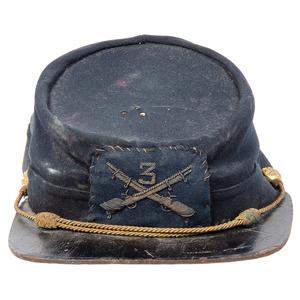 Commercial U.S. Officer's Cap, 3rd Infantry Regiment