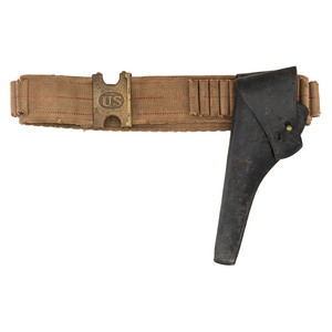 Pattern 1880 Mills Belt With 1881 Holster For Colt SA