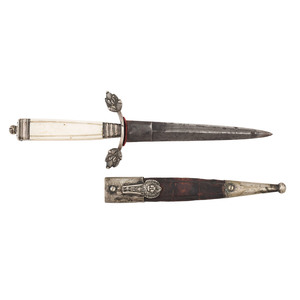 19th Century Mexican Dirk with Sheath