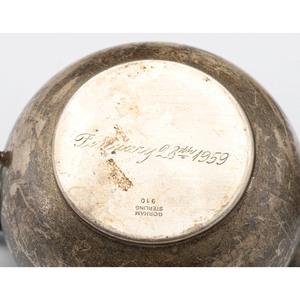 Gorham Sterling Porringer, Creamer, Sugar and Child's Mug