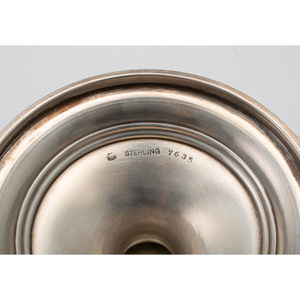 Sterling Compote & Caster, Plus