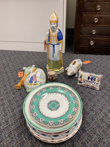 Collection of English and French Ceramics