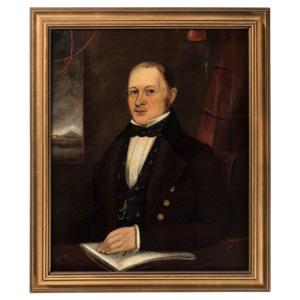 An American Portrait of a Man, 19th Century