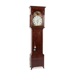 Scottish Tall Case Clock by Robertson of Glasgow