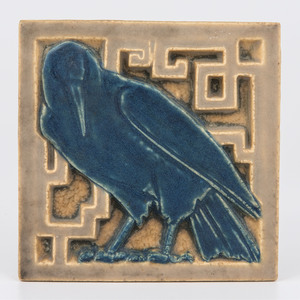 Rookwood Pottery Rook Tile