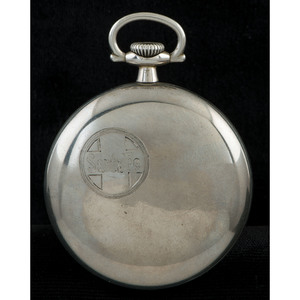Ball Railroad Pocketwatch in Silverode
