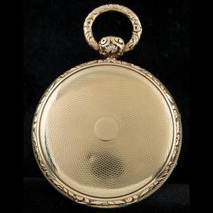 Joseph Johnson Liverpool 18k Gold Fusee Pocketwatch